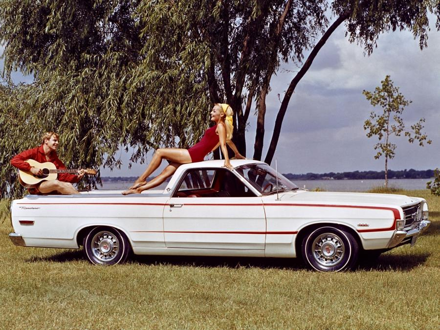 Ford Ranchero GT Sedan-Pickup
