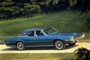 1968 Ford Thunderbird Landau Pillared Hardtop Sedan