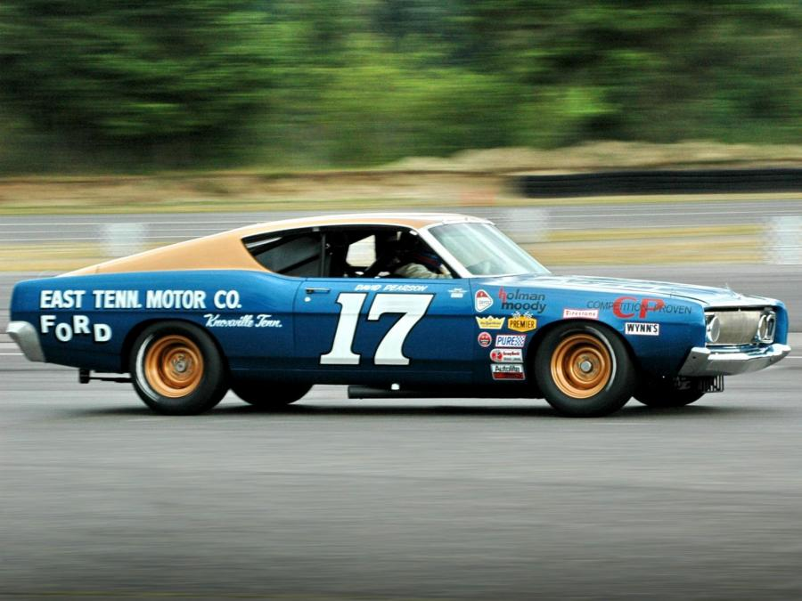 Ford Torino NASCAR Race Car