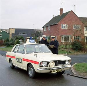 1969 Ford Cortina Mk II by Lotus Police Car