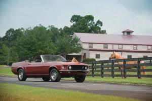 1969 Ford Mustang 428 Cobra Jet Convertible Recreation