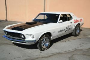 1969 Ford Mustang 428 Cobra Jet Notchback Coupe