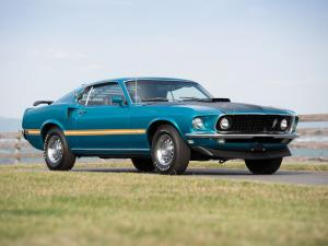 Ford Mustang Mach I 428 Cobra Jet 1969 года