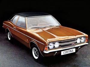 1970 Ford Cortina 2-Door Saloon