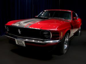 Ford Mustang Boss 302 Red 1970 года