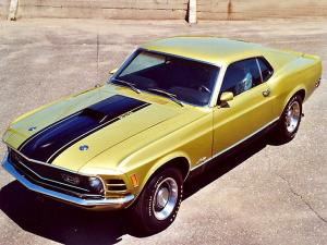 Ford Mustang Mach I 351 Ram Air Sportroof 1970 года