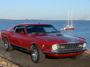 Ford Mustang Mach I Sportroof 1970 года