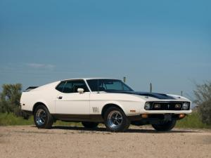 1971 Ford Mustang Mach I 429 Ram Air Sportroof