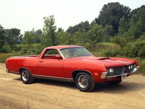 1971 Ford Ranchero GT Sedan-Pickup