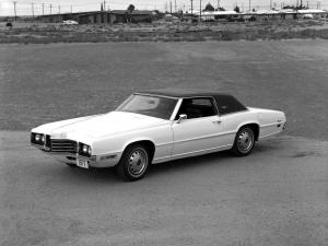 Ford Thunderbird Hardtop Coupe 1971 года