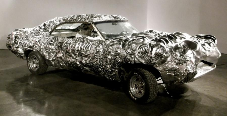 Ford Torino Custom Liquid Metal by Ioan Florea