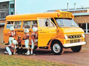 1972 Ford E-200 School Bus Fortivan by Coach and Equipment