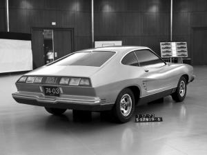 Ford Mustang Mach I Proposal 1972 года