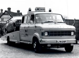 Ford A-Series Recovery Service 1973 года