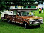 Ford F-350 Super Camper Special Pickup 1973 года