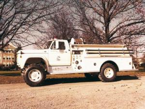 1973 Ford F-600 Firetruck by FTI