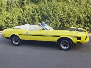 Ford Mustang 351 Ram Air Convertible 1973 года