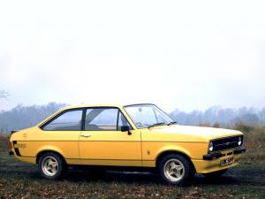 Ford Escort RS Mexico 1975 года