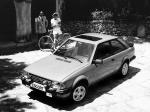 Ford Escort XR3 1980 года