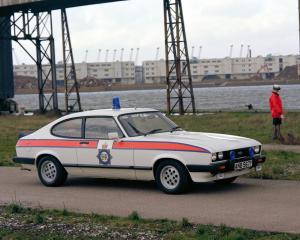 1983 Ford Capri 2.8i Police Car