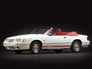 Ford Mustang GT350 Turbo Convertible Anniversary Edition 1984 года