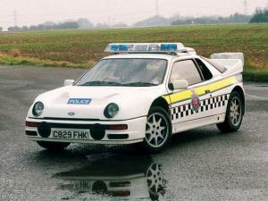 1984 Ford RS200 Police