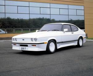 Ford Capri 2.8 Injection Turbo by Tickford 1985 года