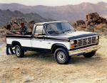 Ford F-150 XLT Lariat Regular Cab Styleside Pickup 1985 года
