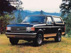 Ford Bronco 1987 года
