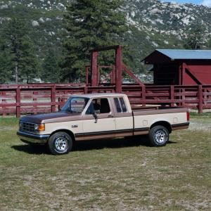 Ford F-150 SuperCab 1987 года