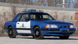 Ford Mustang LX 5.0 SSP Police Car 1989 года