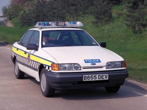 Ford Granada Cosworth Police Car '1990