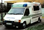 Ford Transit Ambulance 1991 года (UK)