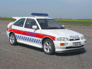 1992 Ford Escort Cosworth Police Car