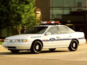 1992 Ford Taurus Police