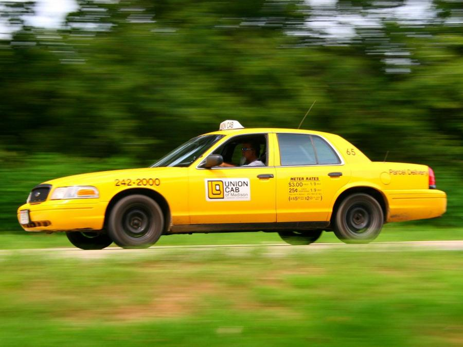 1998 Ford Crown Victoria Taxi