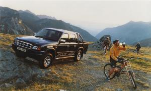 Ford Ranger Double Cab 1998 года (UK)