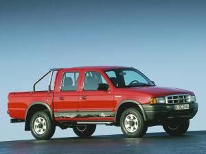 Ford Ranger Double Cab 1998 года