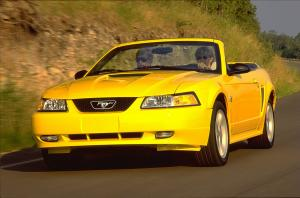 1999 Ford Mustang GT Convertible 35th Anniversary