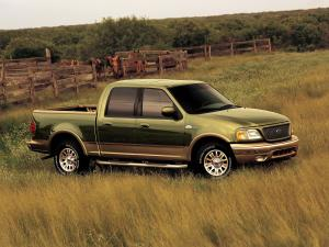 Ford F-150 King Ranch 2001 года