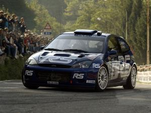 Ford Focus RS WRC 2001 года