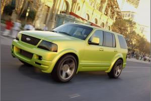Ford Explorer Urban Concept 2002 года