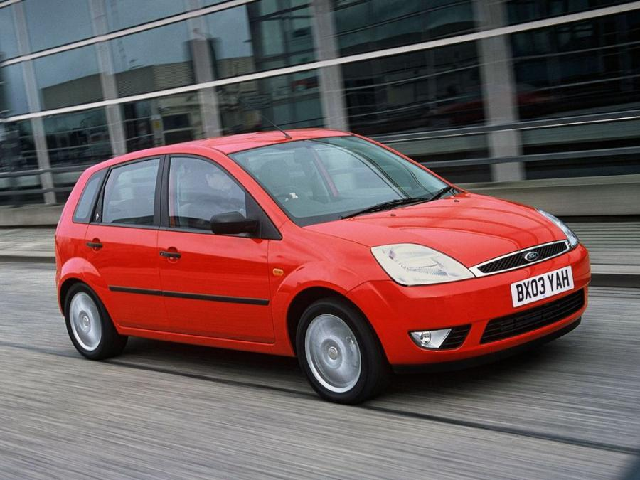 Ford Fiesta Ghia 5-Door (UK) '2002
