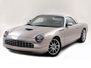 2003 Ford Thunderbird Retractable Glass Roof Concept Valmet