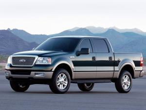 Ford F-150 Lariat SuperCrew 2004 года