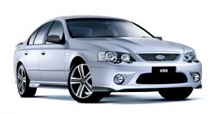 2007 Ford BF Falcon XR facelift