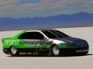 2007 Ford Fusion Hydrogen 999 Land Speed Record Car