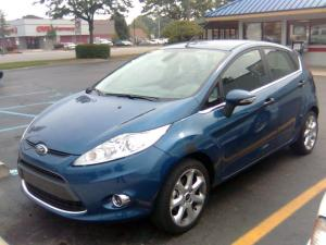Ford Fiesta 2008 года (US)
