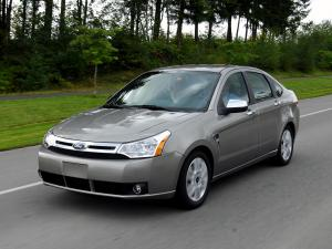 Ford Focus Sedan 2008 года (US)