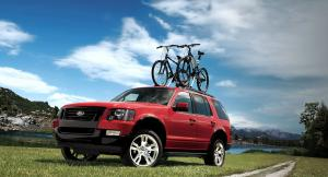 Ford Explorer XLT Sport Package 2009 года